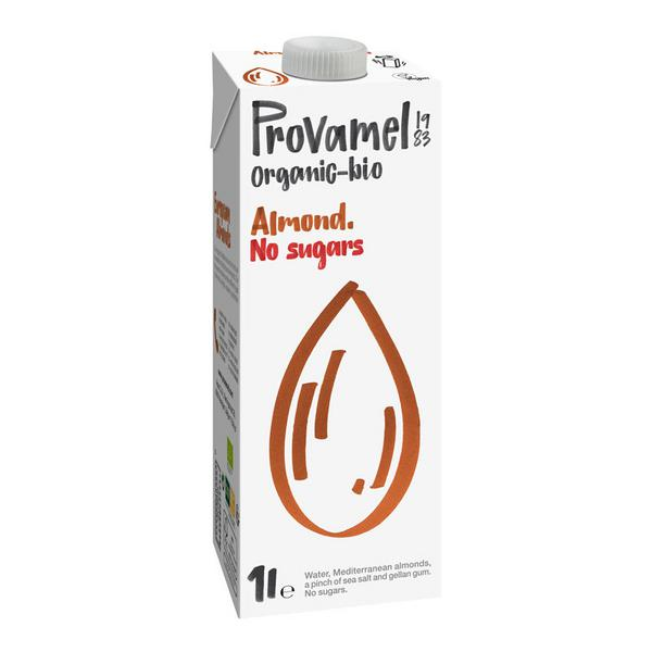 Natural Almond Milk No Gluten Containing Ingredients, sugar free, Vegan, ORGANIC