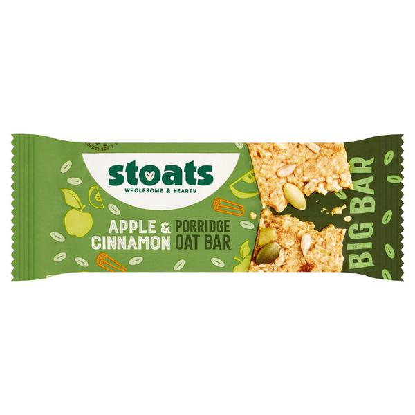 Apple & Cinnamon Porridge Oats Snackbar