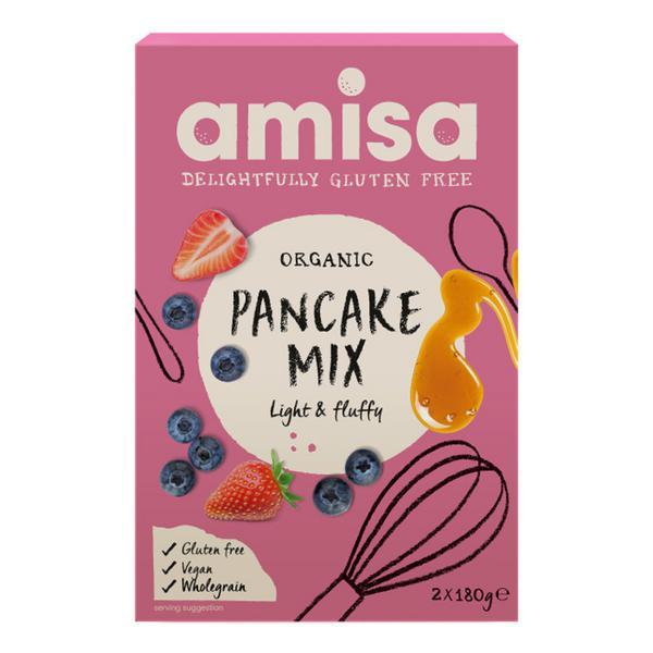 Pancake Mix Gluten Free, Vegan, ORGANIC