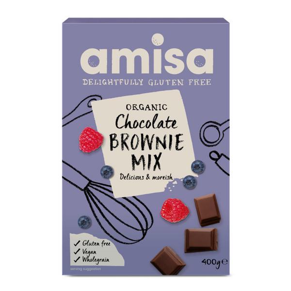 Brownie Mix Gluten Free, Vegan, ORGANIC