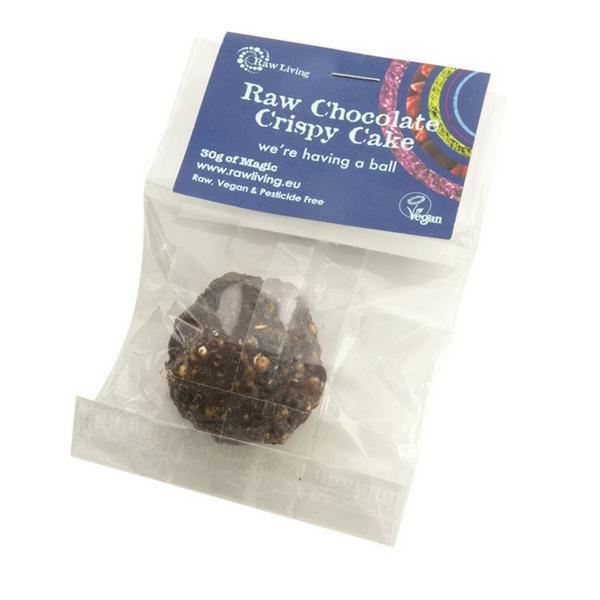 Raw Chocolate Crispy Cake dairy free, Vegan