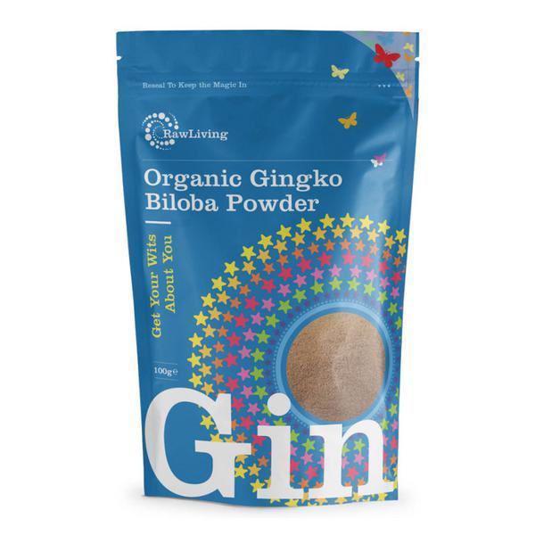 Ginkgo Biloba Powder Gluten Free, Vegan