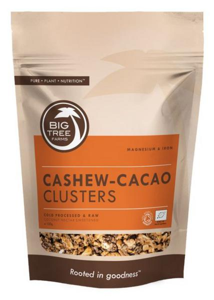 Truly Raw Cacao & Cashew Clusters Gluten Free, , Vegan, ORGANIC