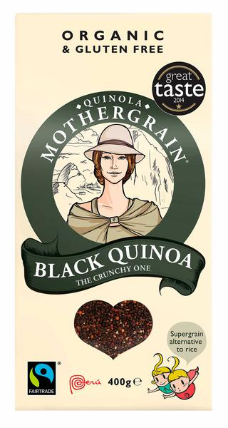 Black Quinoa Gluten Free, FairTrade, ORGANIC