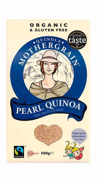 Pearl Quinoa Gluten Free, FairTrade, ORGANIC