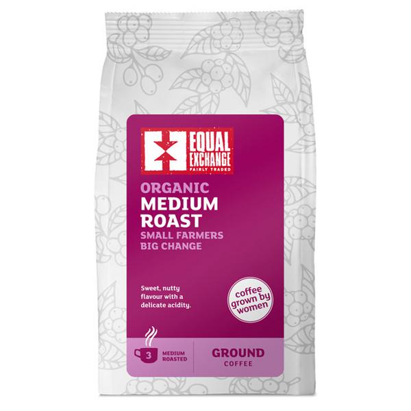 Medium Roast Coffee Ground FairTrade, ORGANIC