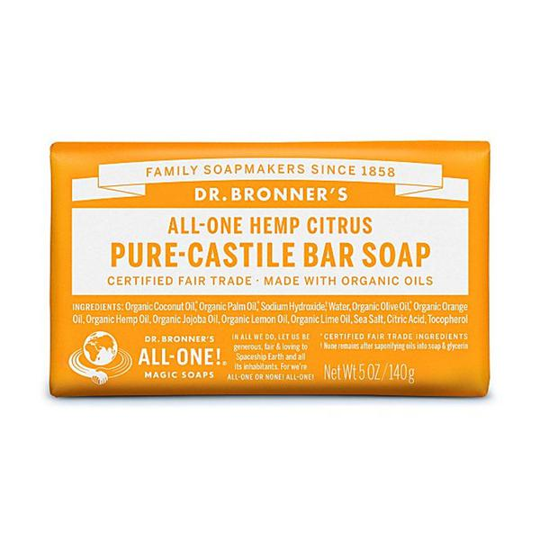 Citrus Soap Bar GMO free, Vegan, FairTrade, ORGANIC