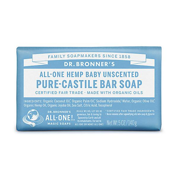 Baby Mild Unscented Soap GMO free, Vegan, FairTrade, ORGANIC