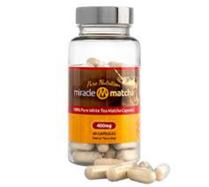 Pure Matcha Tea Supplement Gluten Free, Vegan
