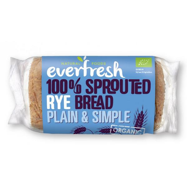 Rye Bread Sprouted Vegan, ORGANIC