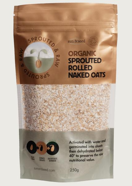 Activated Raw Oat ORGANIC