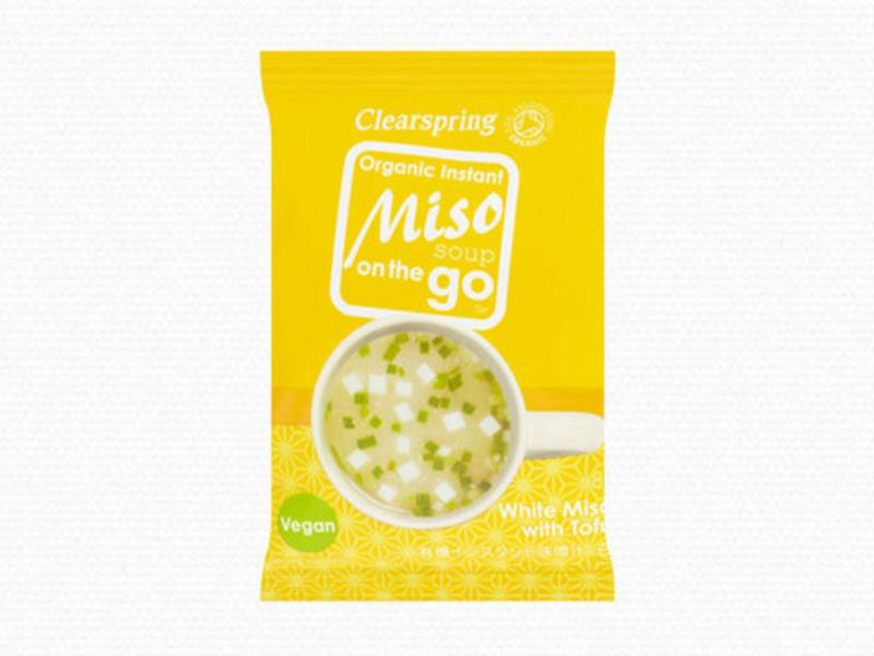White Miso with Tofu Instant Soup On The Go Vegan, ORGANIC