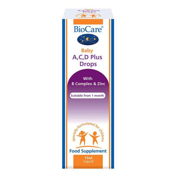 Baby A,C & D Vitamins Drops Plus