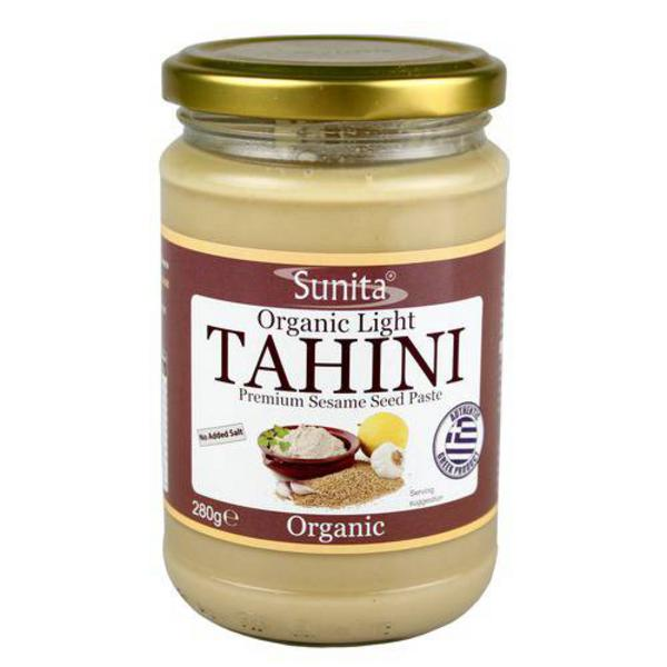 Light Tahini no added salt, ORGANIC