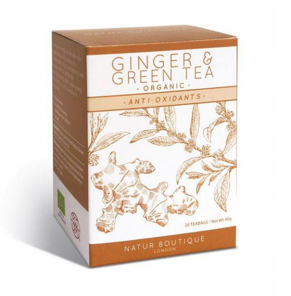 Green T-Bags With Ginger ORGANIC