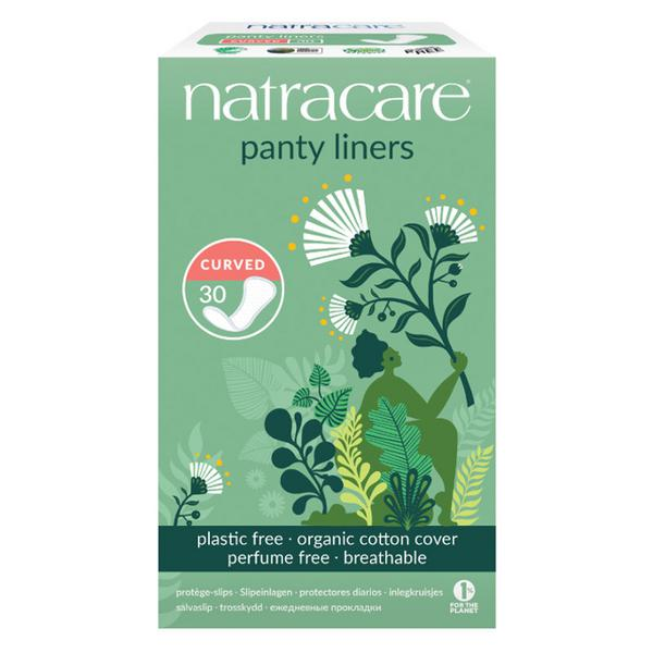 Panty Liners Natural Curved ORGANIC
