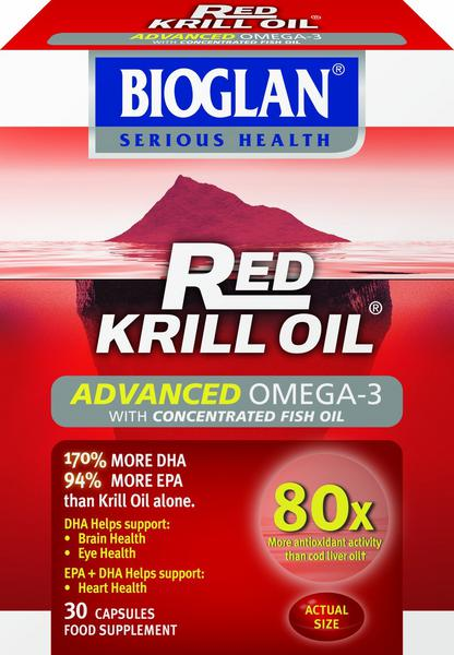 Red Krill Oil Fish Oil