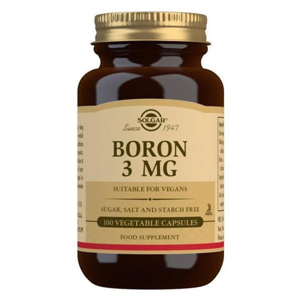 Boron Supplement 3mg dairy free, Gluten Free, Vegan