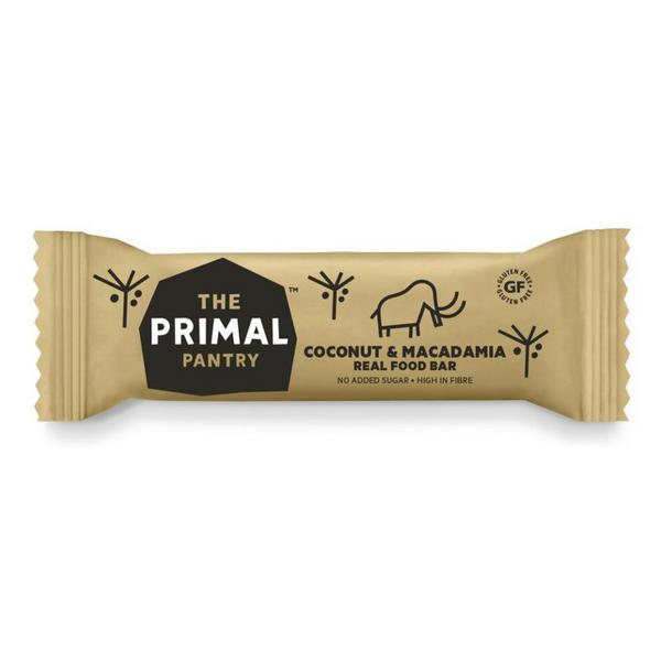 Coconut & Macadamia Paleo Snackbar Primal Pantry dairy free, Gluten Free, Vegan