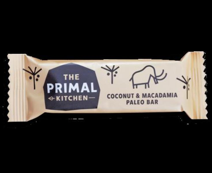Coconut & Macadamia Paleo Snackbar Primal Pantry dairy free, Gluten Free, Vegan image 2