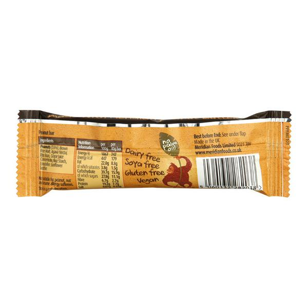 Peanut Snackbar no added sugar, Vegan, yeast free image 2