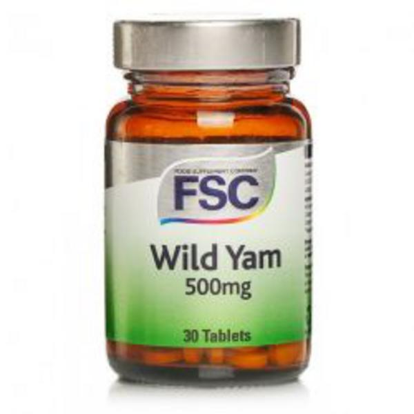 Wild Yam Tablets 500mg