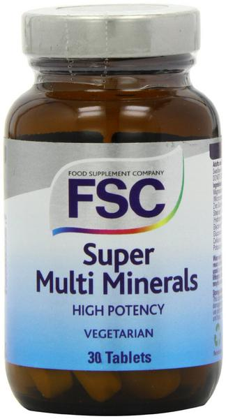 Super Multi Mineral no added sugar