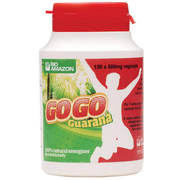 GoGo Guarana 500mg dairy free, egg free, Vegan