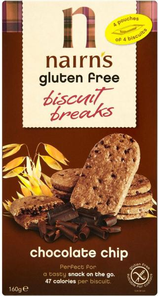 Choc Chip Biscuit Breaks Gluten Free