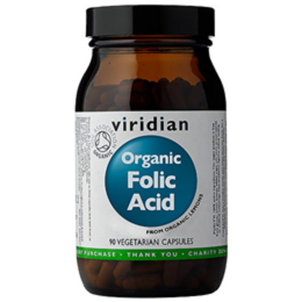 Folic Acid 400ug Supplement Vegan, ORGANIC