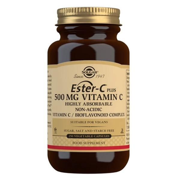 Ester-C Plus Vitamin C 500mg dairy free, Gluten Free, yeast free, wheat free