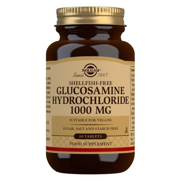 Glucosamine Hydrochloride 1000mg Supplement Vegan