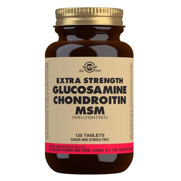 Extra Strength Glucosamine Chondroitin Msm Complex In