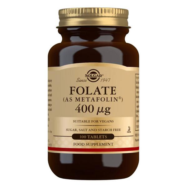 Folate As Metafolin 400ug Vitamin B Vegan