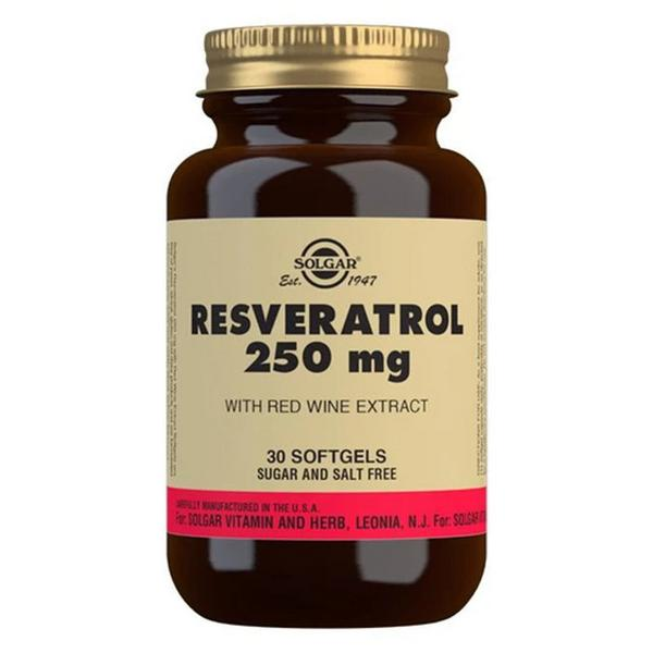 Resveratrol 250mg Supplement dairy free, yeast free