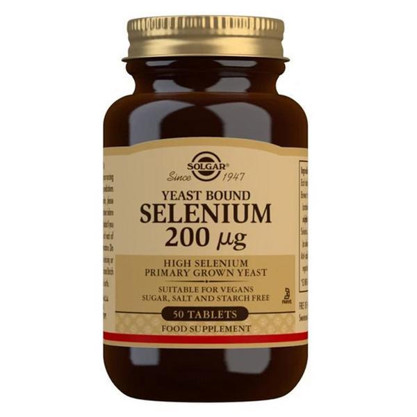 Selenium 200ug Supplement Vegan