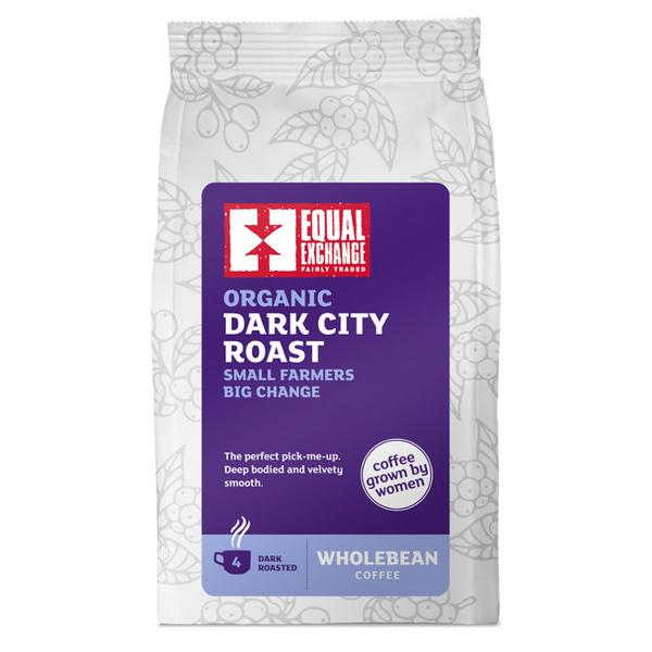 Dark City Roast Coffee Beans Grown By Women FairTrade, ORGANIC