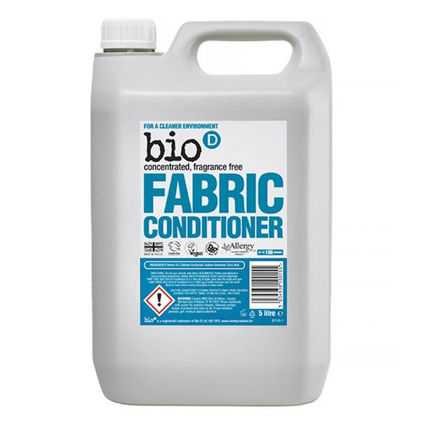 Fragrance Free Fabric Conditioner Concentrated Vegan
