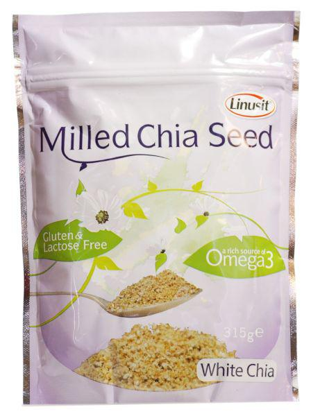 Linusit Milled Chia Seeds dairy free, Gluten Free