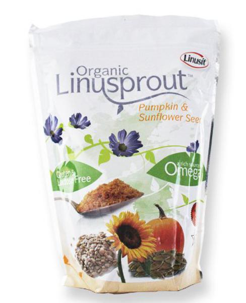 Linusprout Flaxseed Powder Sunflower & Pumpkin Seed Gluten Free, ORGANIC