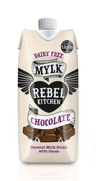 Chocolate Coconut Milk dairy free, Vegan