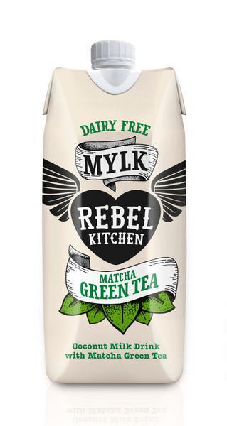 Matcha Coconut Milk dairy free, Vegan