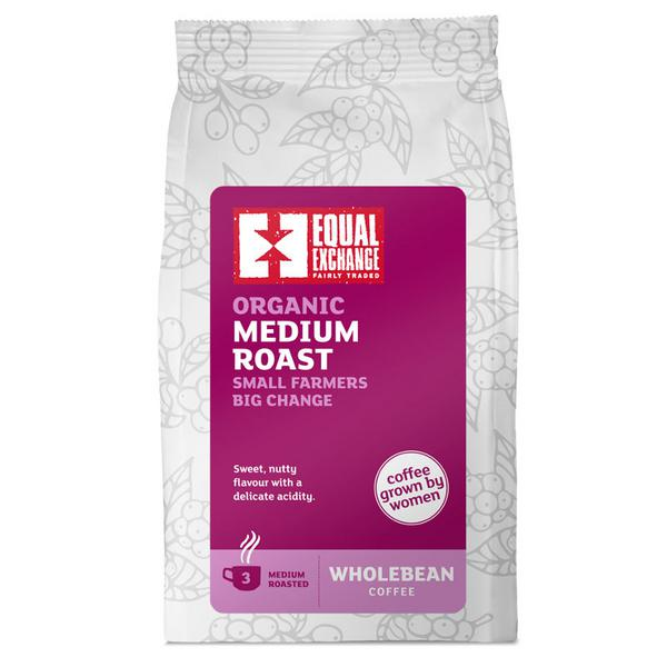 Medium Roast Coffee Beans FairTrade, ORGANIC