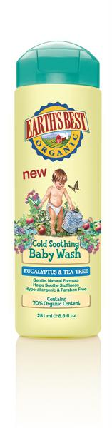 Earth's Best Cold Soothing Baby Wash