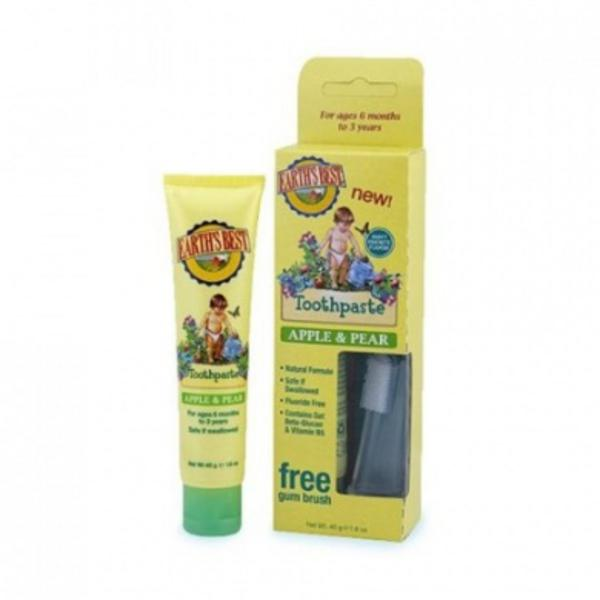 Earth's Best Apple & Pear Toddler Toothpaste