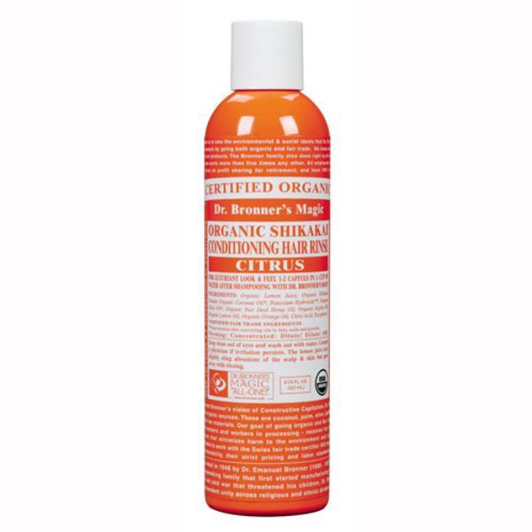 Citrus Hair Conditioner Rinse FairTrade, ORGANIC