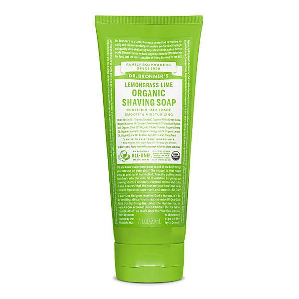 Lemongrass Shaving Gel FairTrade, ORGANIC