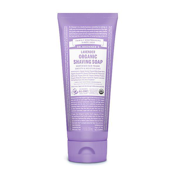 Lavender Shaving Gel FairTrade, ORGANIC