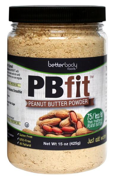 PB Fit PB Fit Peanut Butter Powder in 425g from BetterBody Foods: www.realfoods.co.uk/product/28988/pb-fit-peanut-butter-powder