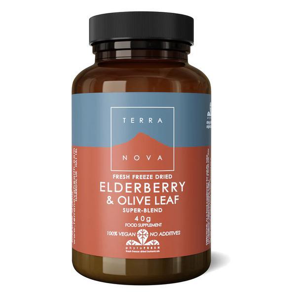 Elderberry & Olive Leaf Blend Vegan